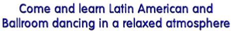 Come and learn Latin American and